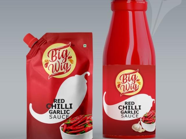 3D BOTTLE PICHKU Red chilli - Label Design Portfolio
