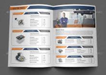 Catalogue3 - Our Brochure Design Service Portfolio