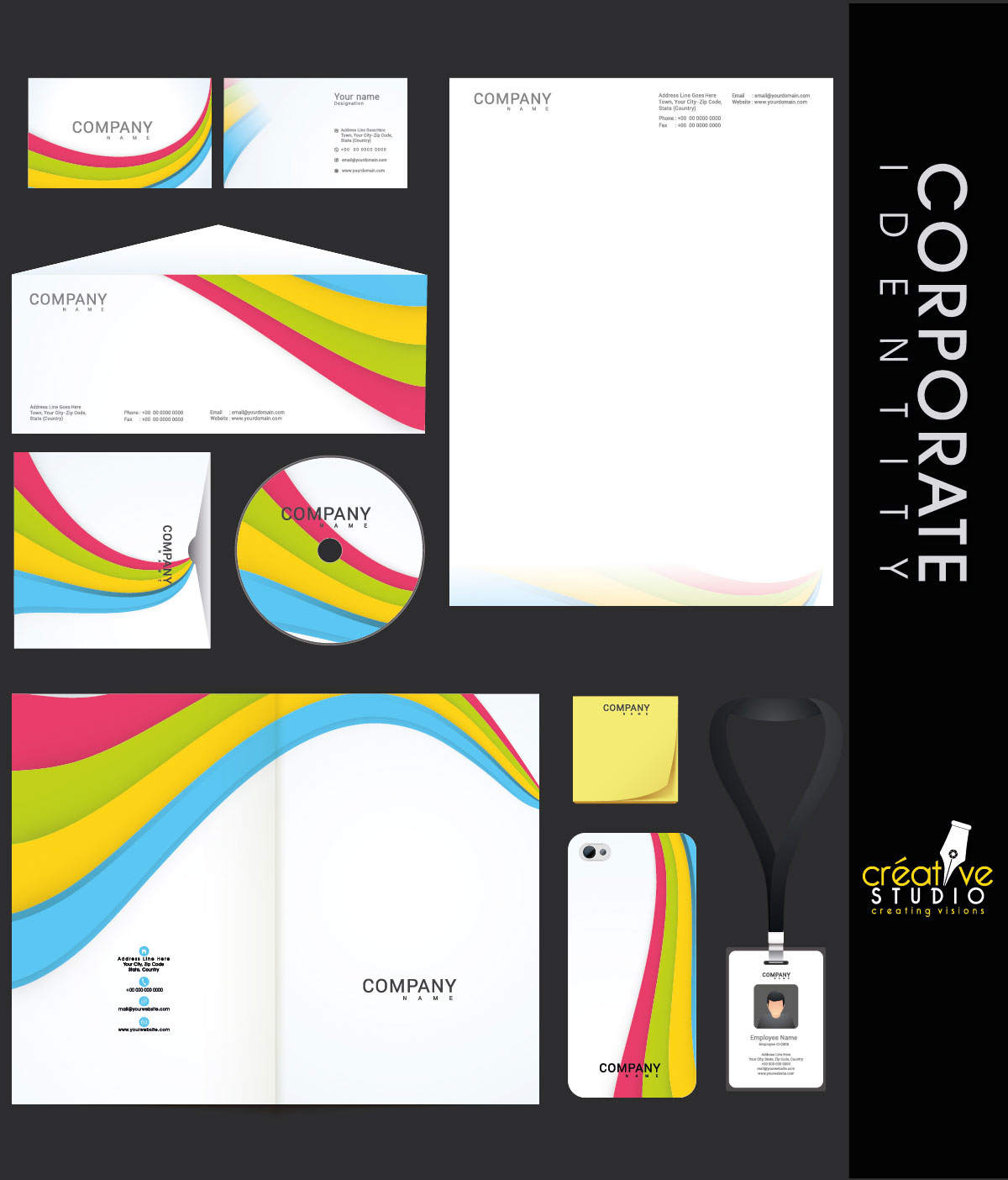 Corporate Identity 4 - PHOTOGRAPHY AND CINEMATOGRAPHY