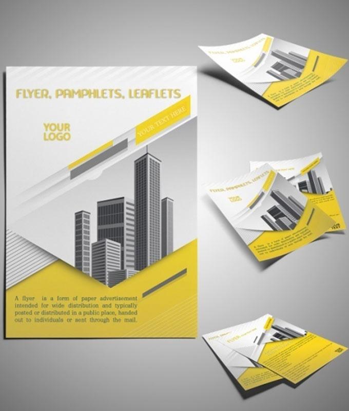 Flyers2 - Our Brochure Design Service Portfolio