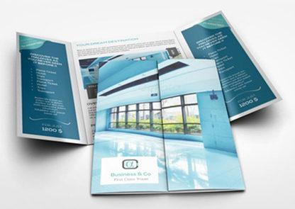 Gate Fold1 - Brochure Design