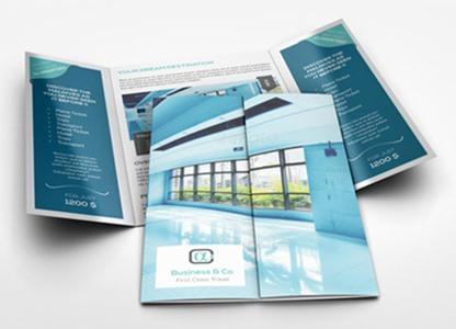 Gate Fold1 - Our Brochure Design Service Portfolio