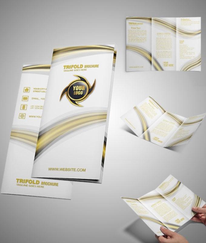 Tri Fold Brochure2 - Our Brochure Design Service Portfolio