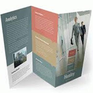 Z fold - Our Brochure Design Service Portfolio
