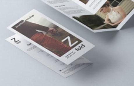 Z fold2 - Brochure Design