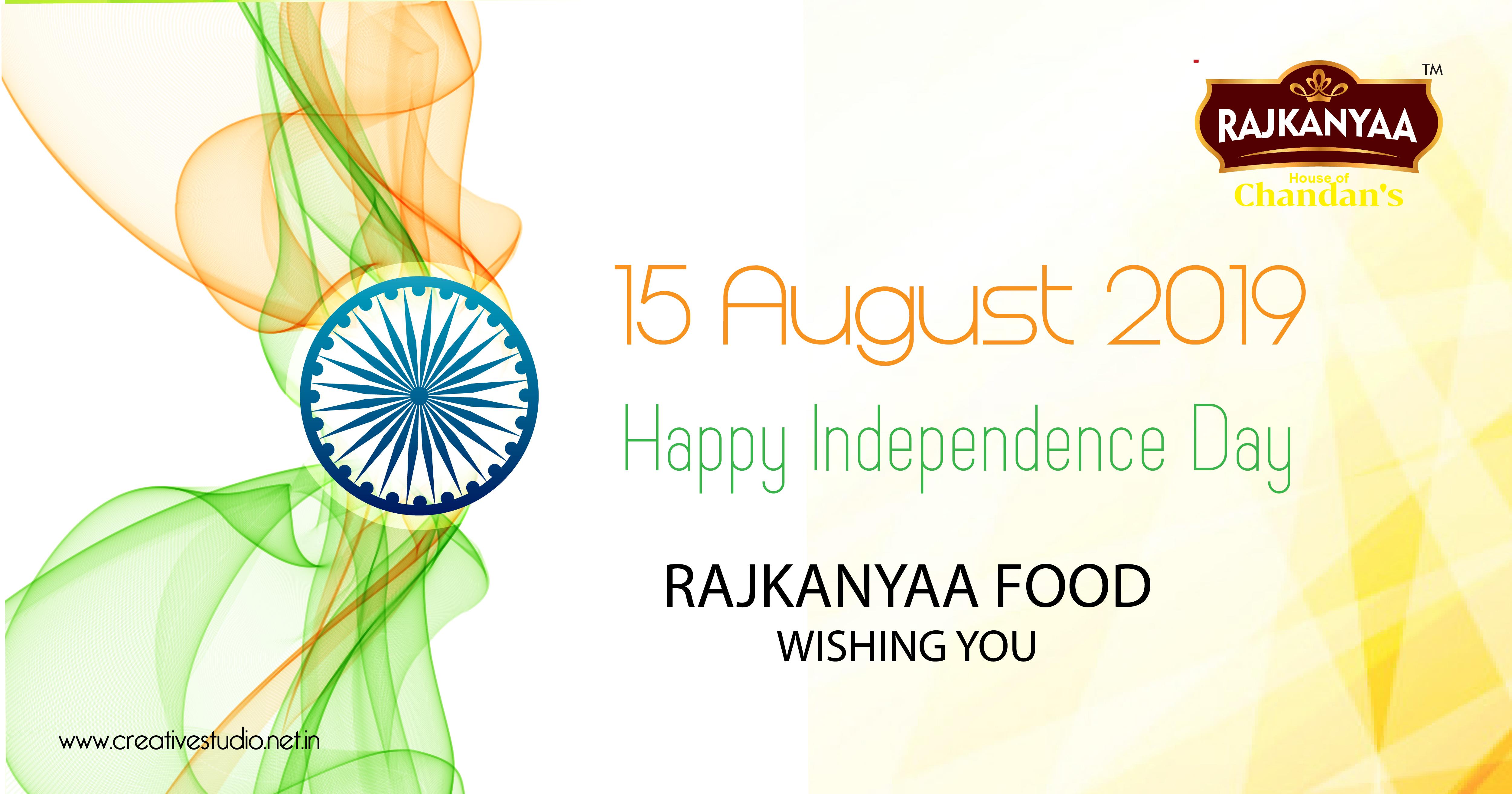 1 RAJKANYAA FOOD Independec day celebration 01 - Social Media Creatives