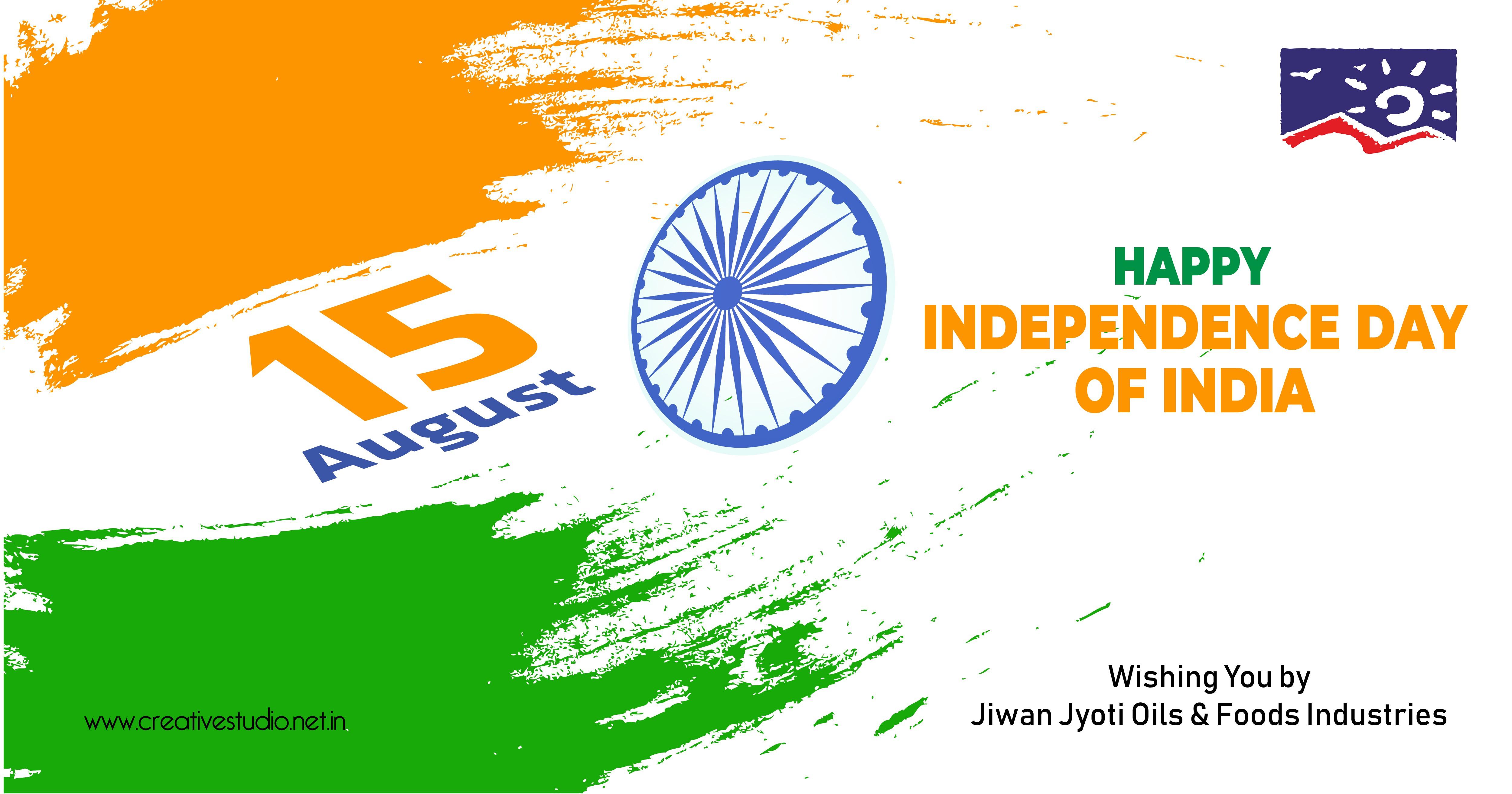 3 Jiwan Jyoti Oils Foods Industries Independec day celebration 03 - Social Media Creatives