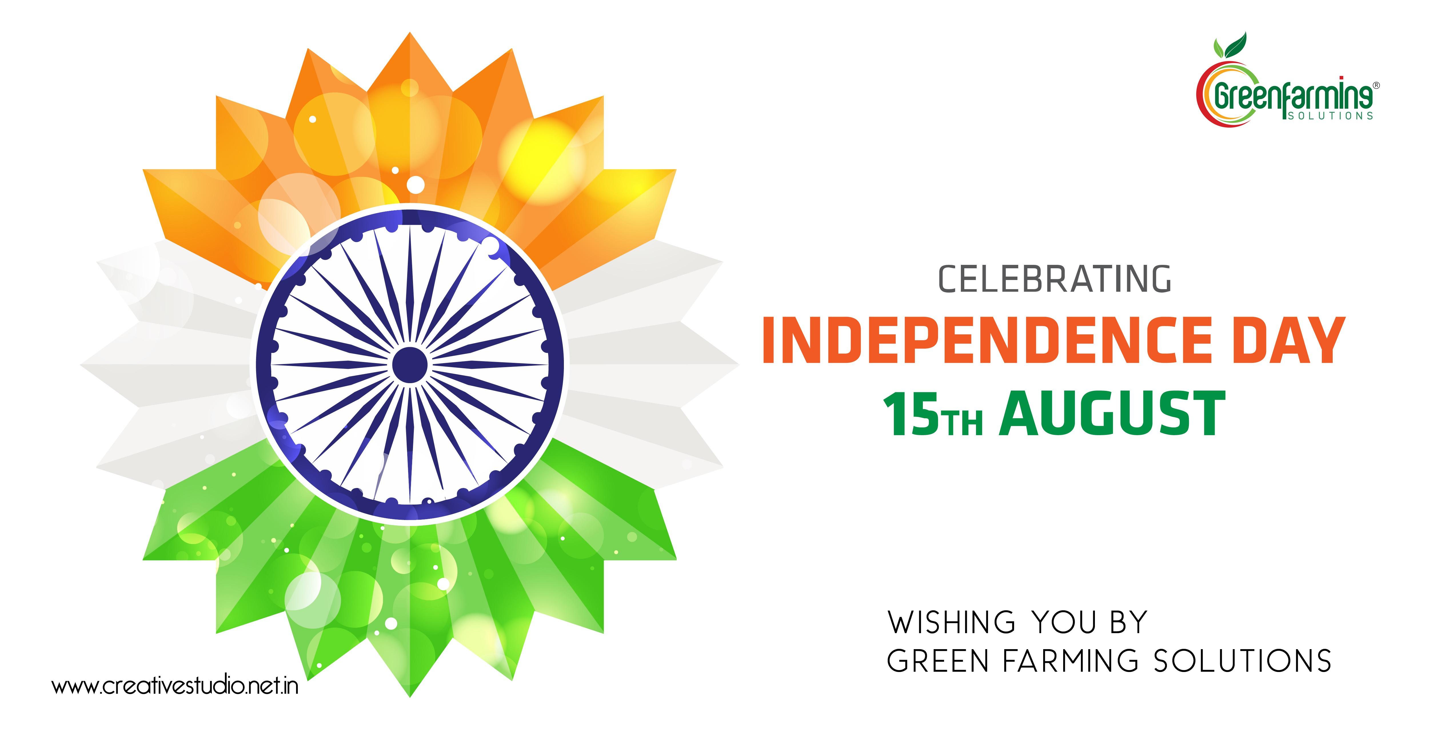 7 Green Farming Solutions Independec day celebration 07 - Social Media Creatives