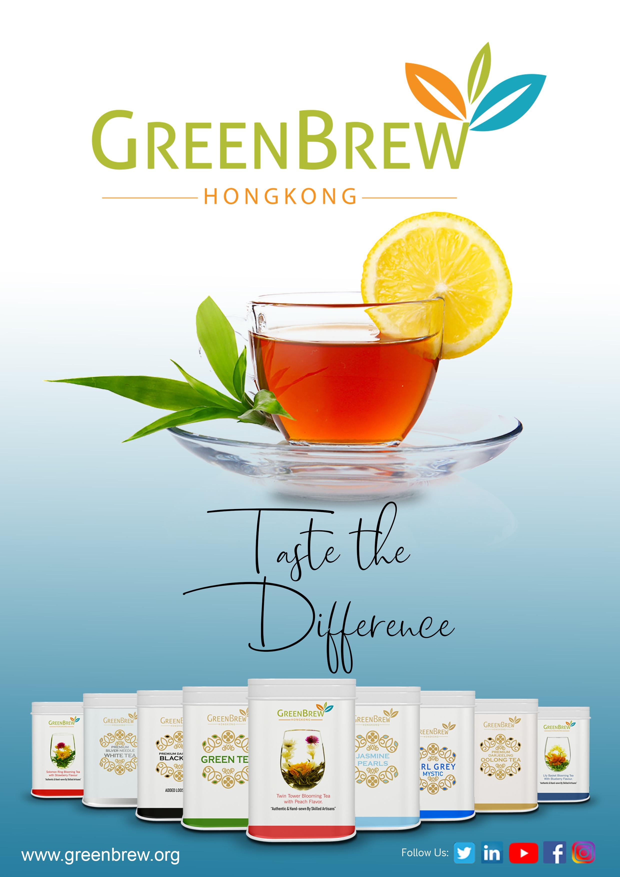 Green Brew - Social Media Creatives