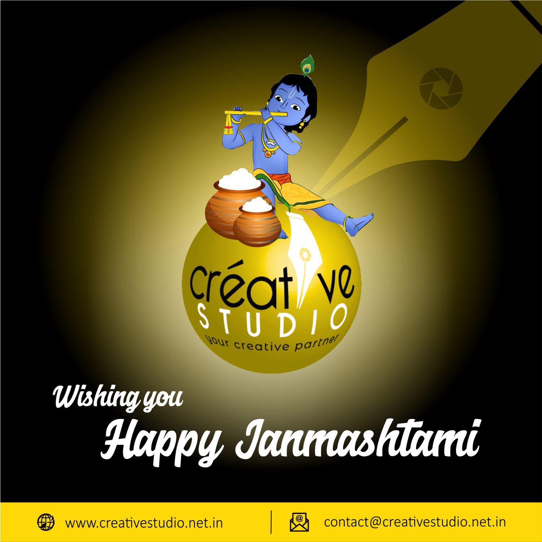Happy Janmashtami - Social Media Creatives