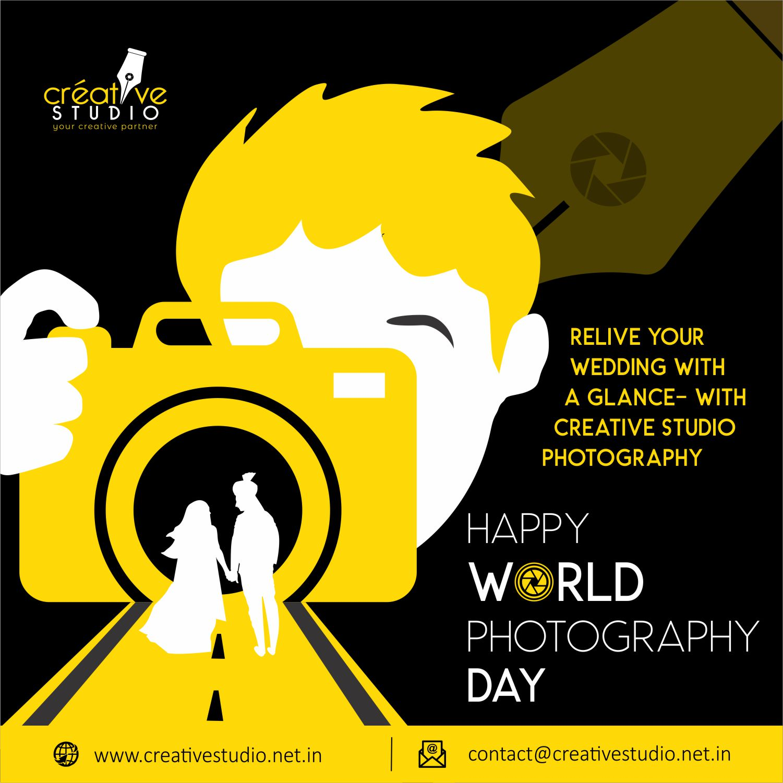 World Photograpy Day - Social Media Creatives
