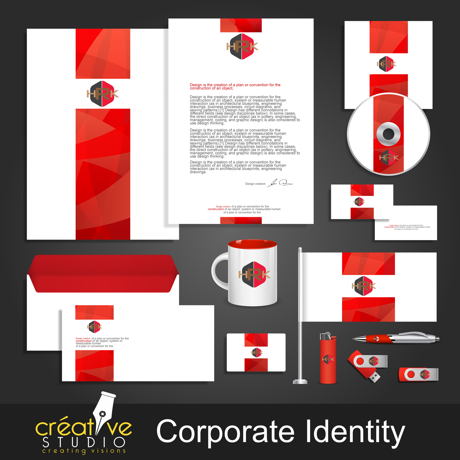 corporate identity kit vector templates Converted 01 2 - Corporate Identity