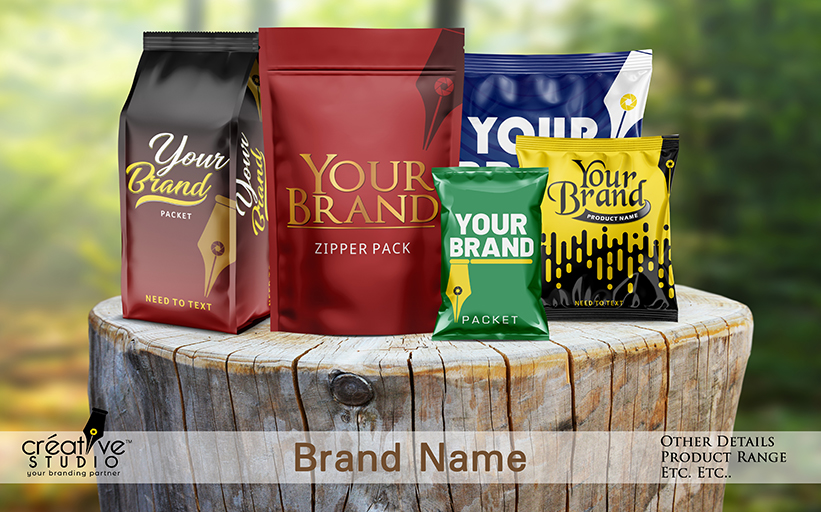 Creative One Product Packaging - Complete Branding Solution