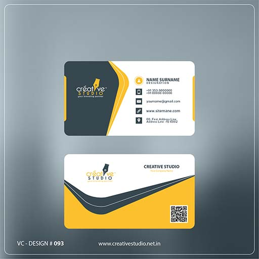 Creative One Visiting Card - Visiting Card Design Service by Creative Studio