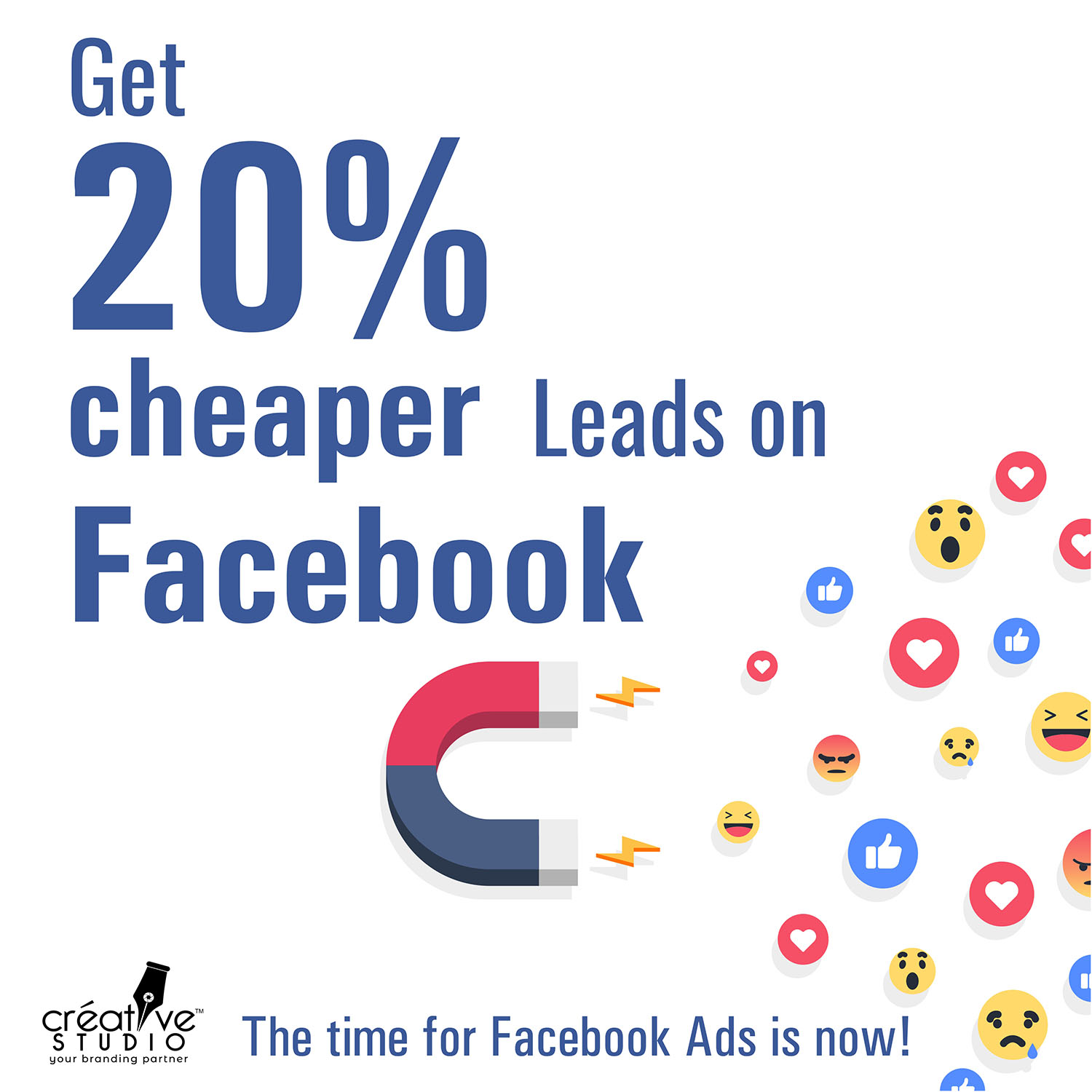 Facebook AD Creative New Project 3 square 1 - Online Advertising Service by Creative Studio