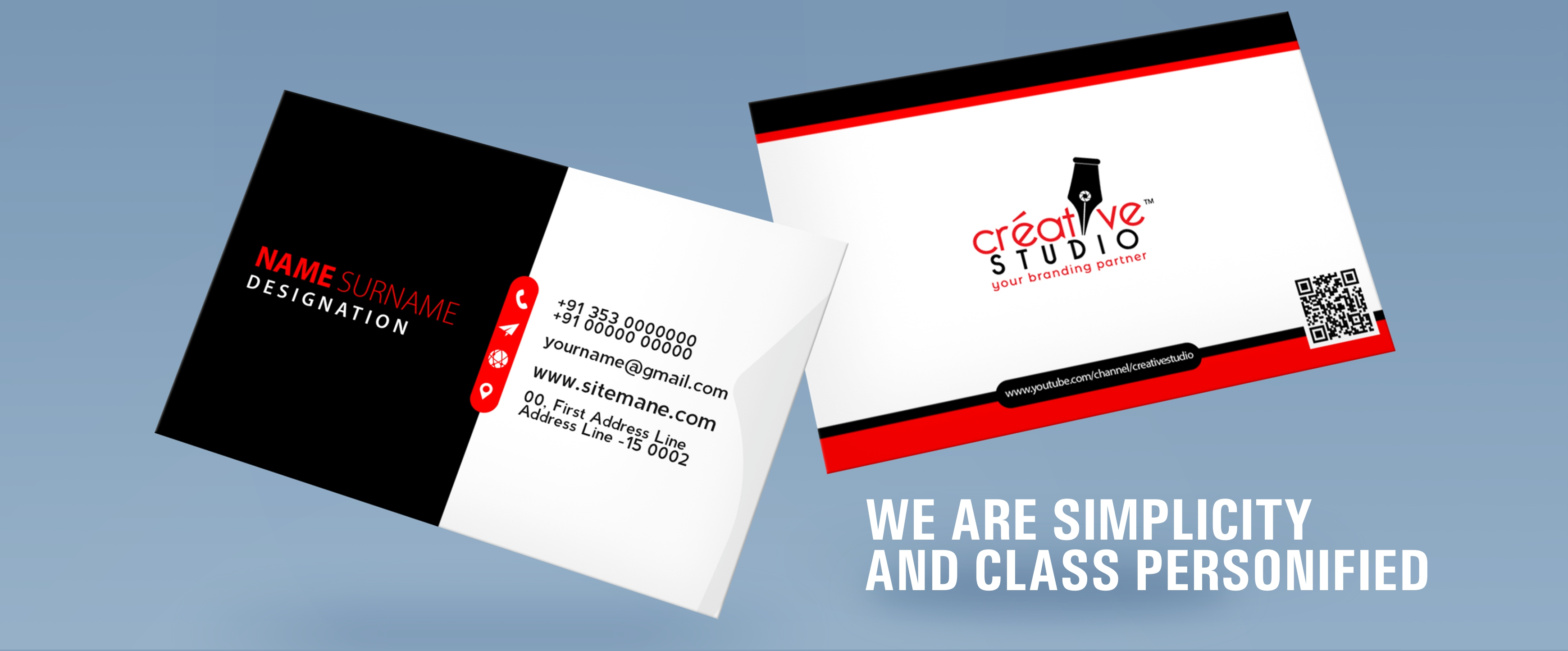 SLIDER 2 zoomin - Visiting Card Design Service by Creative Studio