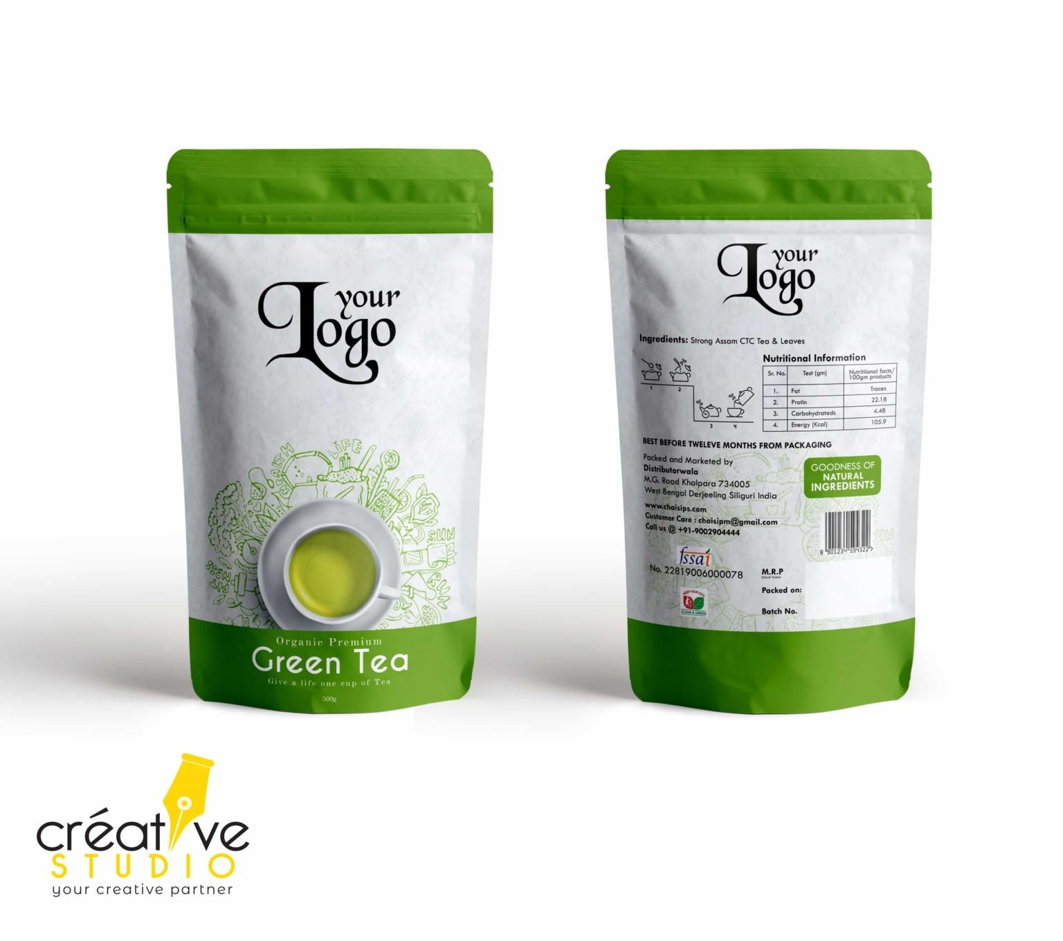3d Tea 2 - Tea Mockup Designs