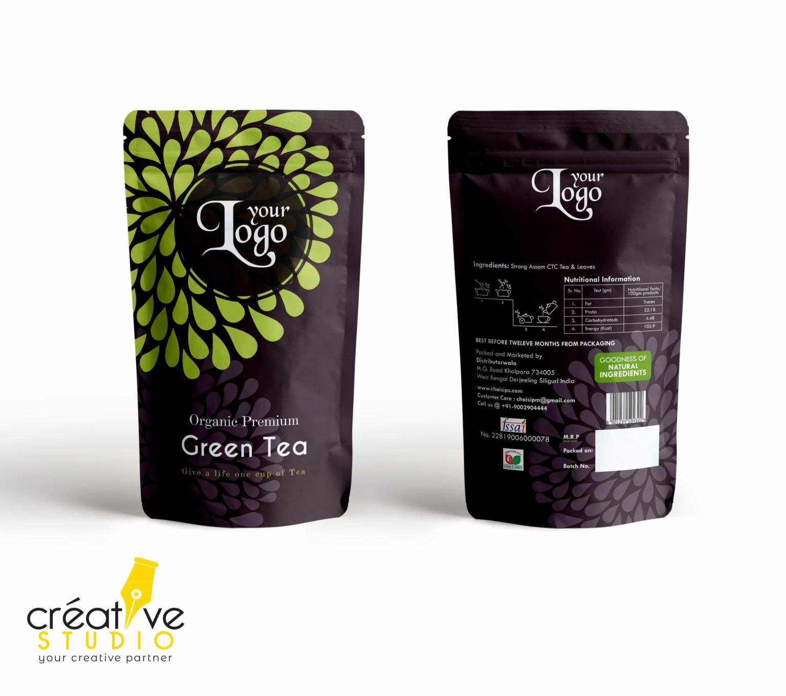3d Tea 6 - Tea Mockup Designs