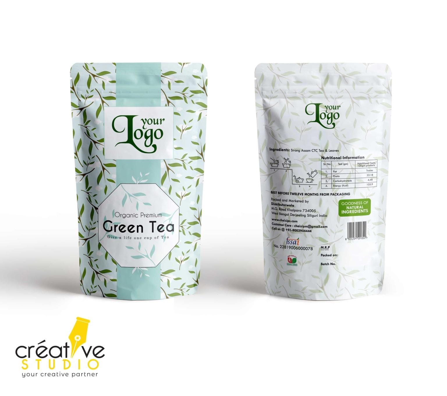 3d Tea 7 - Tea Mockup Designs