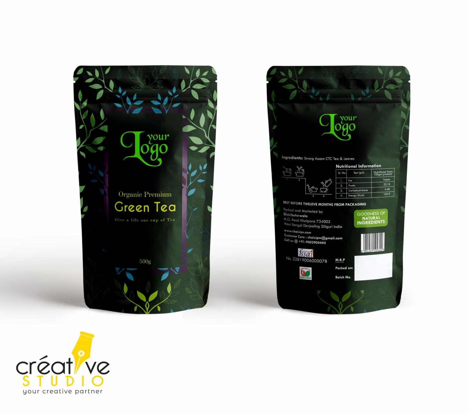 3d Tea 9 - Tea Mockup Designs