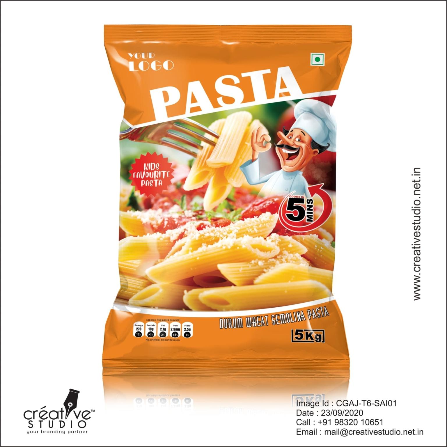 Maa Purnadevi Pasta 5kg CREATIVE - Other Design