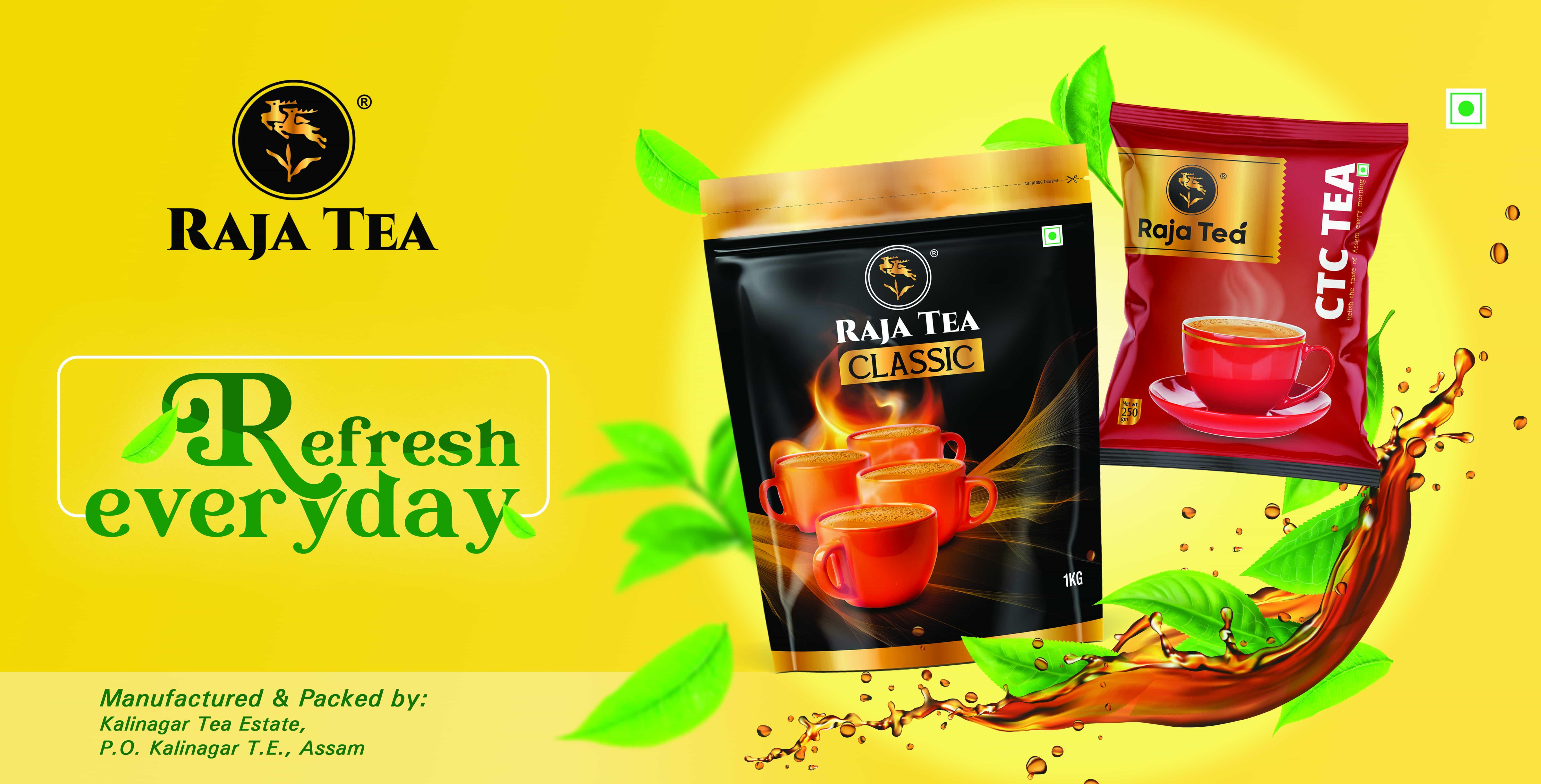 Raja Tea Hoarding2 - Ready to Use Design