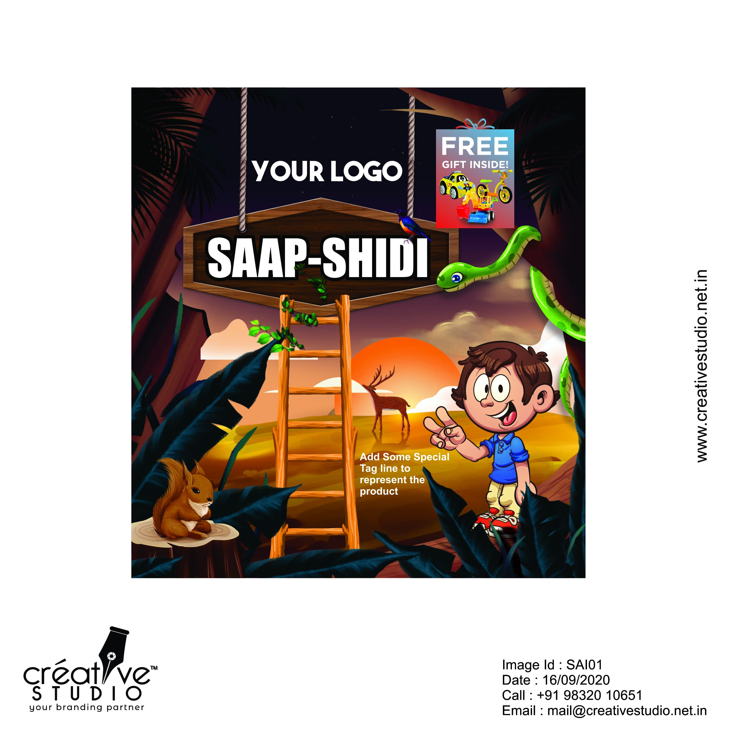 Saapsidhi - Ready to Use Design