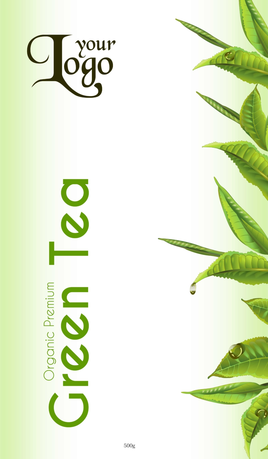 green tea 03 - Tea Packet One