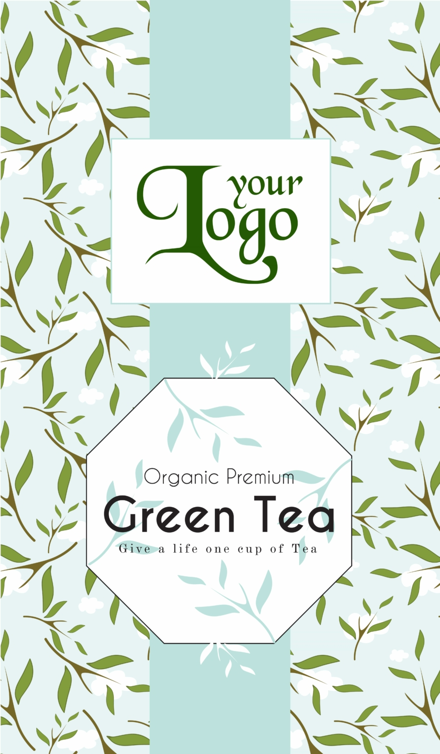 green tea2 05 - Tea Packet One