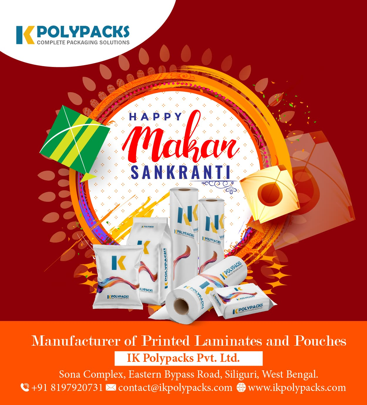 Makar Sankranti 01 - Season Greetings 500